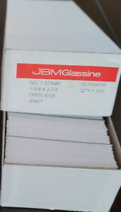 JBM Glassine Lot of 700+ No 1 size New Glassines 1-3/4 x 2-7/8 Open Side
