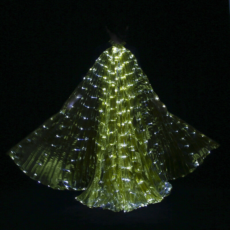 LED Isis Flügel Bauchtanz Club Licht Show Kostüm Kostüm Kostüm Ägyptische Flügel 7 Farben 1f4b2d