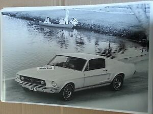 1967-Mustang-GT-Fastback-12-X-18-034-Black-amp-White-Picture