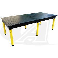 "BuildPro Max 8' (2.4m) Modular Welding Table: 36"" High - Standard Finish"