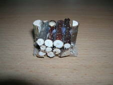 Holz Brennholz Holzscheite klein Small Log Pile Dollhouse Puppenstube 1:12 D2319