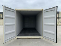 NEW 3 Door 20' One-Trip Shipping Container Sea Can Storage Abbotsford Fraser Valley Preview