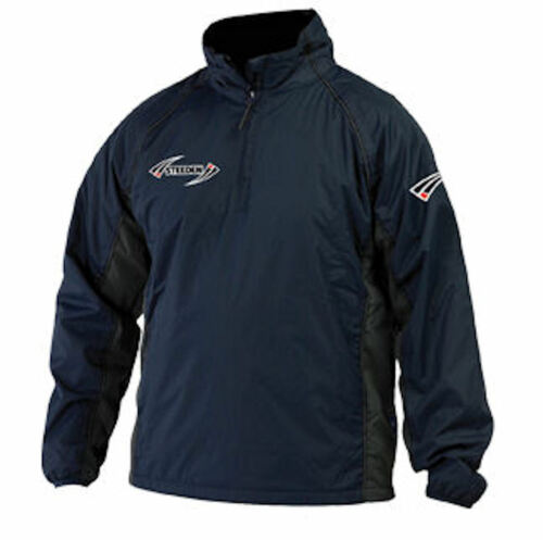 New Steeden Storm Rugby Mens Sports Jacket NAVY or BLACK M L XL XXL XXXL