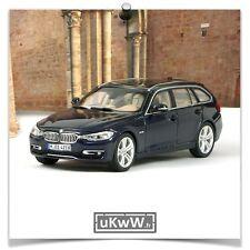 Jadi 1/43 - Bmw 335i Touring 2012 bleu foncé métallisé