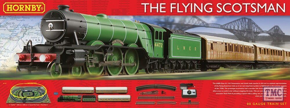 R1167 Hornby HO OO Gauge Flying Scotsman Set