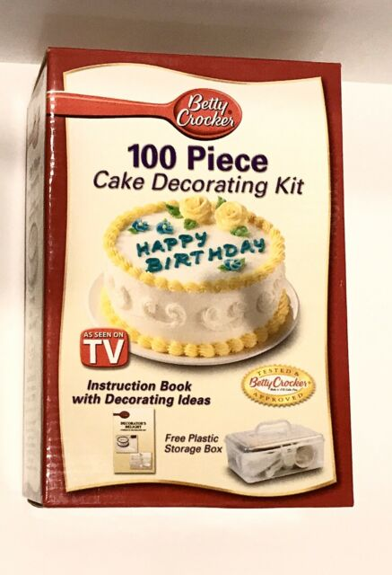 Pleasing Betty Crocker 11Piece Decorating Kit Brand For Sale Online Ebay Funny Birthday Cards Online Barepcheapnameinfo