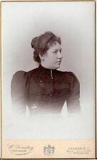 CDV photo Damenportrait - Kromeriz / Kremsir um 1900