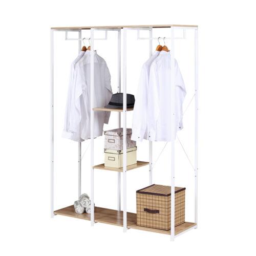 Kleiderständer Garderobenständer Hängeregal Wäscheständer Aufhänger SGR0046