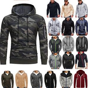 Mens-Hoodie-Sweater-Sweatshirt-Coat-Jacket-Pullover-Outwear-Tops-Winter-Fall-5XL