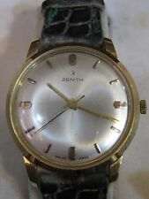*ZENITH* WATCH -34 mm - VINTAGE MANUAL GOLD 18 kt - 19 JEWELS - WORKING