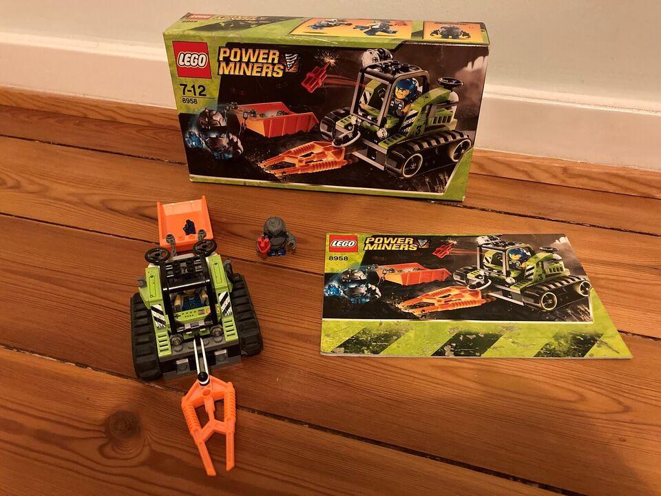 Lego Power Miners, 8956+8958+8960
