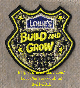 LMH PATCH Badge TRAIN COAL CAR 2011 LOWES Build Grow Kid/'s Clinic Holiday Engine