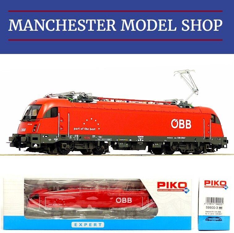 Piko 59900-3 HO 1 87 Electric Locomotive Reihe 1216 ÖBB  DCC SOCKET  NEW BOXED