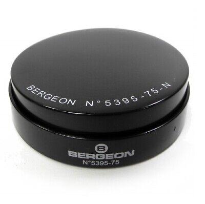 Bergeon 5395 75 N Schwarz Gel Uhr Gehäuse Polsterung 75mm Schweizer - Hc5395 75 Eine VollstäNdige Palette Von Spezifikationen