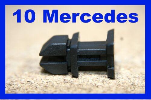 Para Mercedes 10 Forro de aislamiento de arranque Cubierta Panel sujetador Clips FASCIA