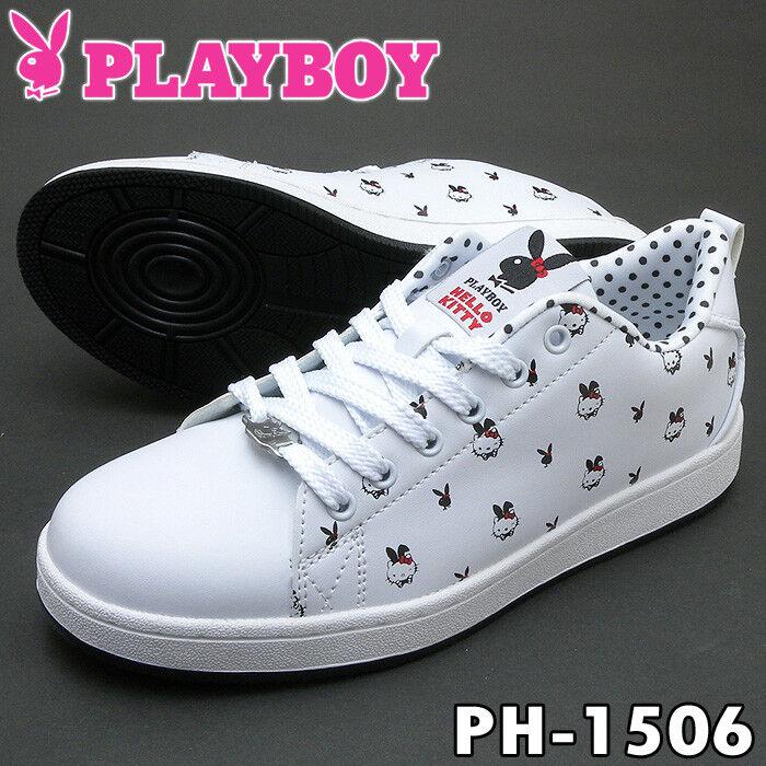 New Playboy X Sanrio Hello Kitty Lapin Baskets PH-1506 du Japon avec suivi