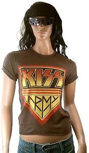 s Nähte Kiss Amplified T Vintage Löcher shirt Rock Star Xs Army Aussen Stonewash 7qqgdZtwO