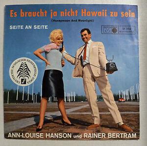 COVER-ONLY-ANN-LOUISE-HANSON-amp-RAINER-BERTRAM-034-Es-braucht-ja-nicht-Hawaii-034