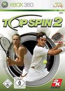 Top-SPIN-2-TENNIS-per-XBOX-360-Nuovo-Scatola-Originale