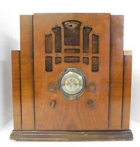 1935-Silvertone-Model-1922A-Tombstone-Radio-Dry-Battery