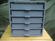 New Hillman Hardware Parts Cabinet Heavy Duty With 5 Sliding Drawers Amp Parts Boxes