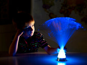Details About Led Fibre Optic Ice Lamp Visually Stunning In Dark Den Special Needs Autism