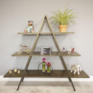 3 Tier Metal Display Shelves Storage