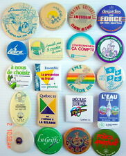 LOT OF 20 1970-80'S PIN BADGES FRENCH, (MISCELLANEOUS).