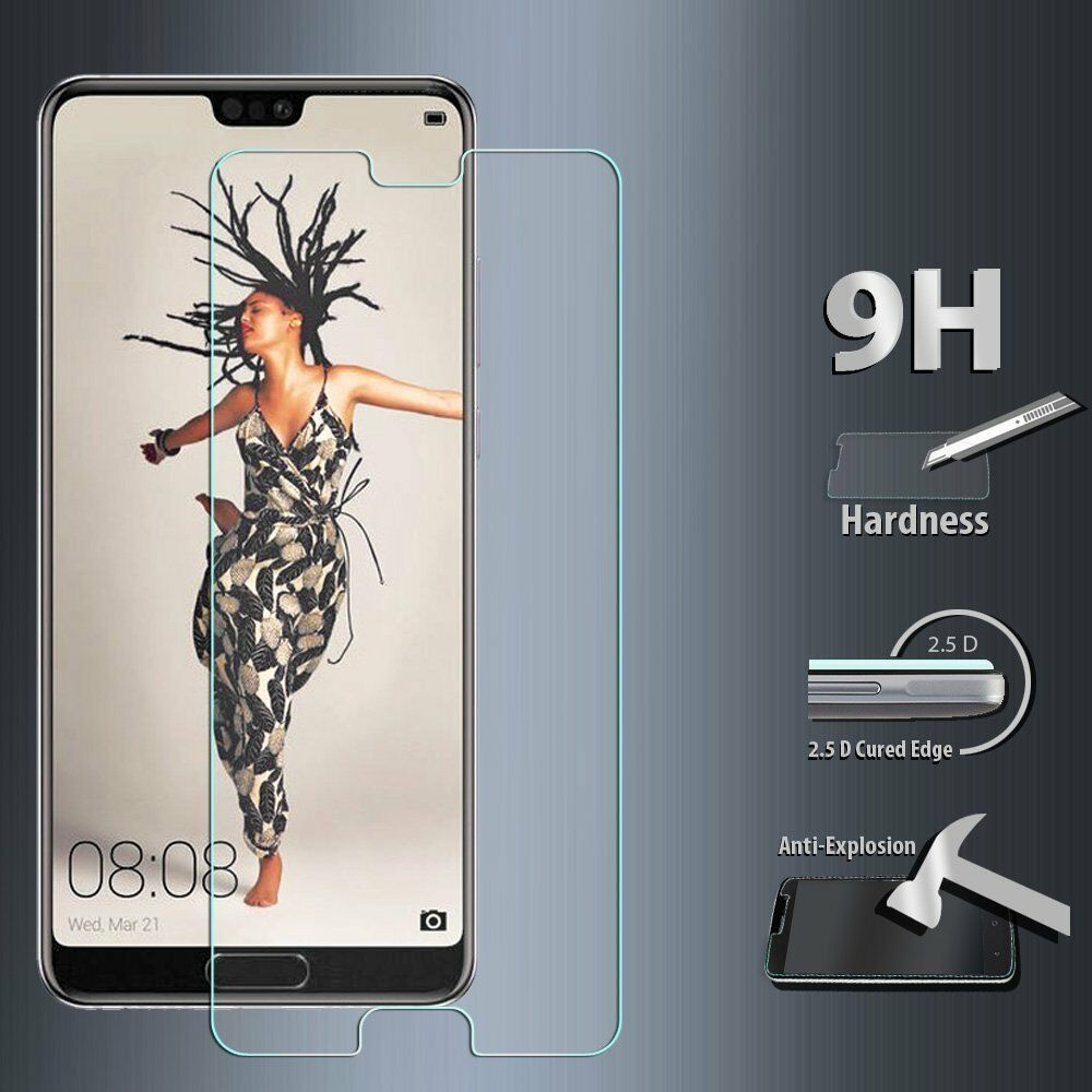 3Pcs Tempered Glass Screen Protector For Huawei P Smart P9 P10 P20 Pro P30 Lite 2