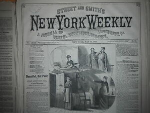 1877-Street-amp-Smith-039-s-New-York-Weekly-May-13-Black-Hills-Life-Harry-039-s-Indians