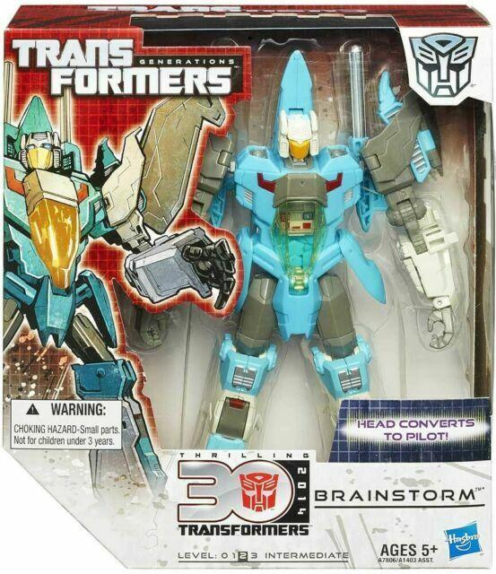 Transformers Voyager Class BRAINSTORM ACTION FIGURE-Hasbro