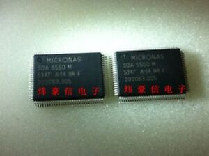 Micronas M2//SDA-6000//6001 16-Bit Microcontroller Graphics IC Chip QFP-128 33MHz