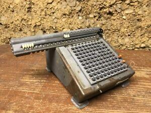 Ancienne-Machine-A-Calculer-MONROE-L200-X-VINTAGE-VENDU-EN-L-ETAT