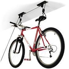 Bici soffitto Storage LIFT APPENDI CICLO BICICLETTA garage rimessa Mount PULEGGIA Rack PARANCO