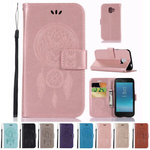 Pour-Samsung-Galaxy-Grand-Prime-Pro-Chouette-Style-Clapet-Cuir-PU-Coque-Support