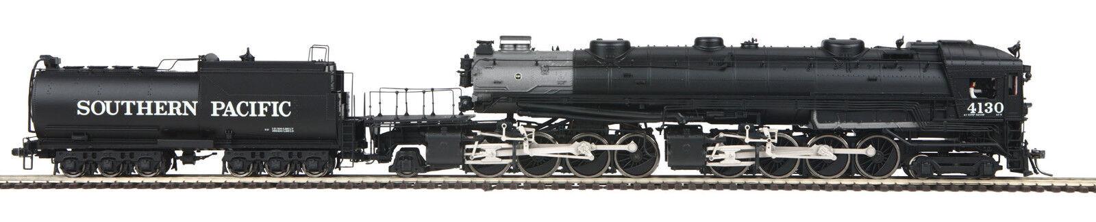 HO MTH Die-Cast SP Cab Forward 2 Rail Rail Rail DC w/DCC, Sound, Smoke 80-3274-1 b0296b
