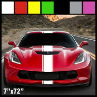 7 Hood Stripe Auto Graphic Racing Stripe Decal Vinyl Car Truck Universal