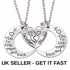 Cabochon I  love you to the Moon and Back hEART Necklaces /& Earrings AND Owl set