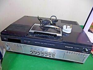 Sanyo Betamax Bcord VTC9300P VCR Magnétoscope Vintage Japon défectueux