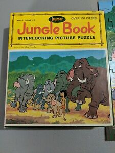 Jaymar-Jungle-Book-Picture-Puzzle-Over-100-Pieces-Complete