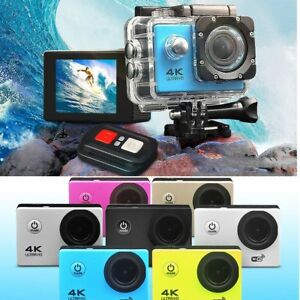 4K-Ultra-HD-Sports-Camera-WIFI-Helmet-Mini-DV-Carry-Case-Bundle-Action-Camcorder
