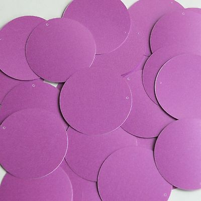 Pear Drop Sequin 1.25 Lilac Light Purple Opaque Satin Pearl Loose Couture Paillettes