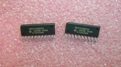 QTY 18 HM514100CZ-6 HITACHI 20 PIN ZIP 4Mx1 FAST PAGE MODE DRAM NOS 1 TUBE