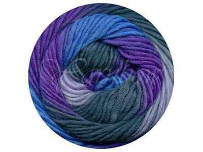 Viking of Norway ::Odin #889:: 100% Superwash wool 40% OFF! Blue-Purple-Grey