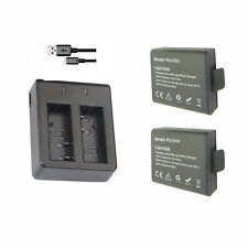 Original Eken H9R 3.7V Real 1050mAh Li-ion Battery + Charger for all EKEN Camera