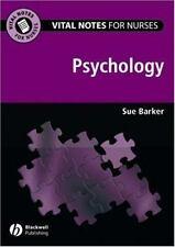 Vital Notes for Nurses: Psychology (Vital Notes for Nurses)-ExLibrary