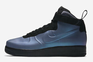 361d3643084 Nike Air Force 1 Foamposite Cup Light Carbon Blue Black AH6771 002 ...