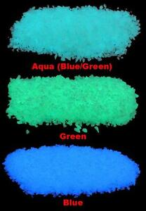 Juste Micro Glow In The Dark Décombres ~ Aquarium Pierres * Fish Tank Gravel ~ Pebbles-afficher Le Titre D'origine