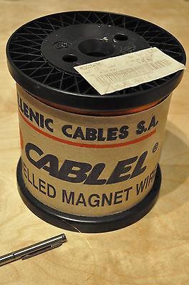 Kupferlackdraht 0,7mm 0,710mm 2.5 kg CuL Draht Teslaspule tesla coil copper wire