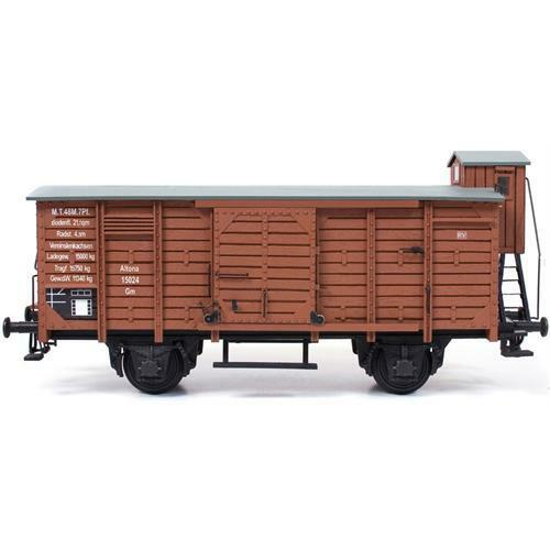 Occre Freight Rail Wagon 1 32 Scale G-45 Gauge Metal & Wood Model Kit